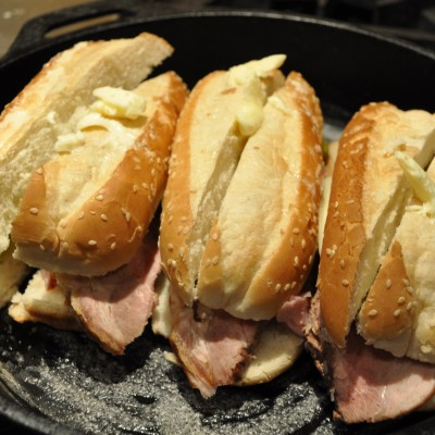 CUBAN SANDWICHES FOR LUNCH