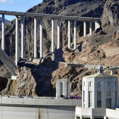 NEW BRIDGE OVER HOOVER DAM
