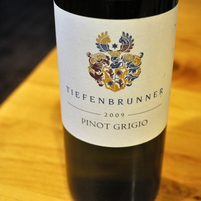Tiefenbrunner's Pinot Grigio
