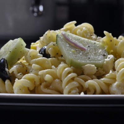 Pasta Salad with Greek Dressing