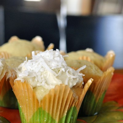 Ina's Coconut Cupcakes