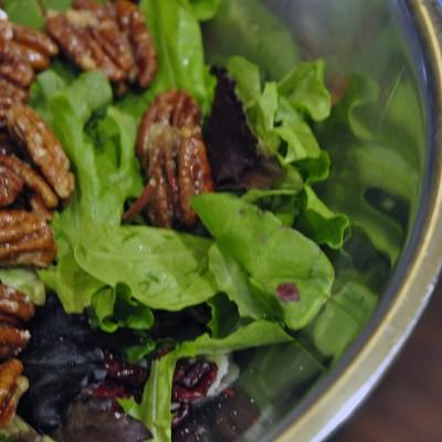 Candied Pecan Salad