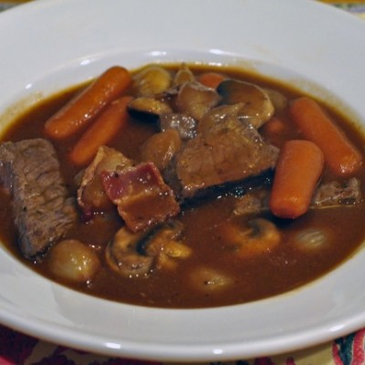Ina's Filet of Beef Bourguignon