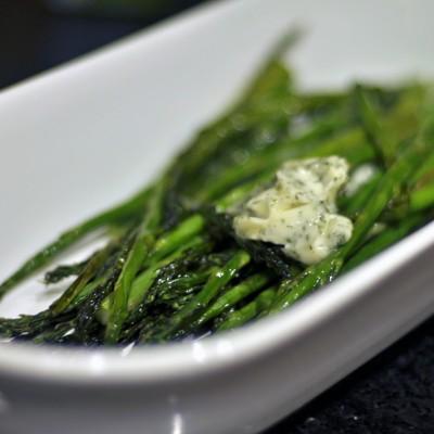 Herb Butter Asparagus