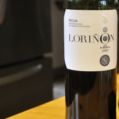 A Red Wine for Late Summer – Lorinon Rioja