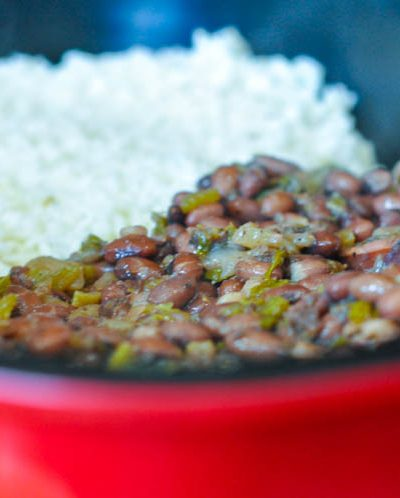 Rice and Beans for the New Year