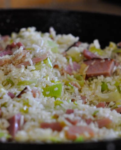 Leek Fried Rice