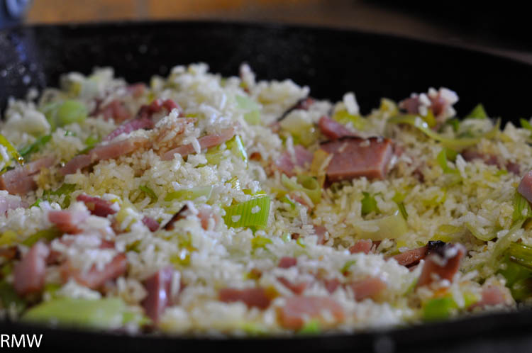 Leek fried rice the rocky mountain woman so very very good ccuart Choice Image