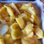 Peach Slab Pie with Cointreau Glaze