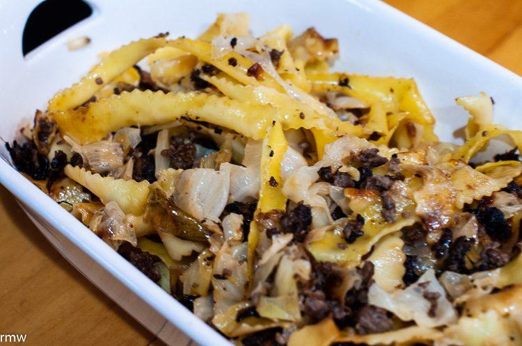 Venison Noodle Fry
