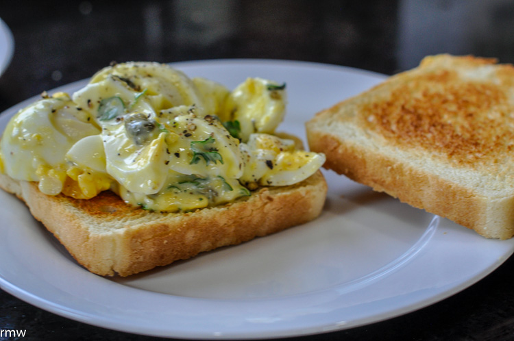 The Best Egg Salad Sandwich Ever