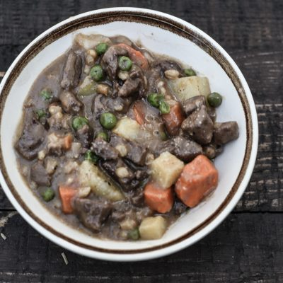 Venison Stew on the Campfire