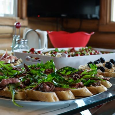 Whiskey Beef Bruschetta