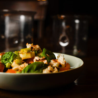 Panzanella – the best way to eat heirloom tomatoes